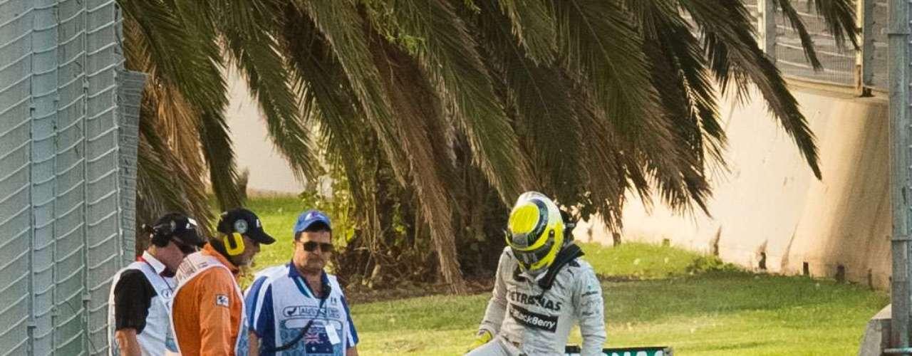 En su mejor volta, Hamilton estableció un tiempo de 1min26s772.
