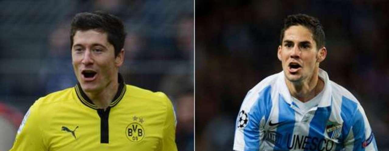 También en su estadio jugará el Málaga, gran sorpresa de la competición en su primera participación, el primer partido contra el Borussia Dortmund. La vuelta se disputará en el Signal Iduna Park, con capacidad para 80.000 espectadores.