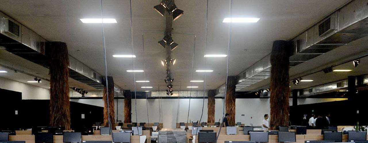 La prensa tendrá un lugar especial en el segundo piso del edificio de la Bienal, en Sao Paulo.