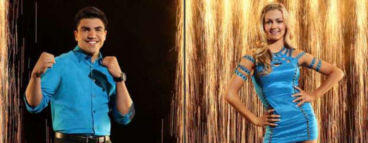 Victor Ortiz y Lindsay Arnold. Victor ha vivido el sueño americano amparado en el cuadrilatero, en otras cuatro esquinas viene a disputarse un puesto como bailarín. La rubia bailarina Lindsay será la encargada de acompañarlo.