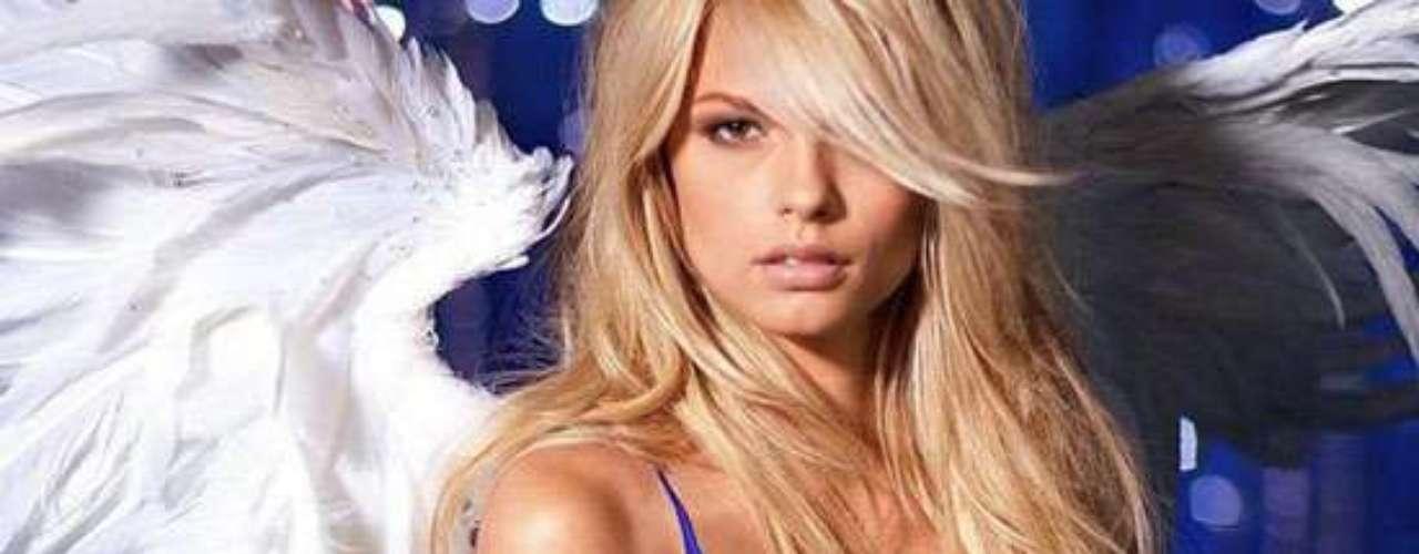 La modelo es una de las que ha posado para Victoria Secret.