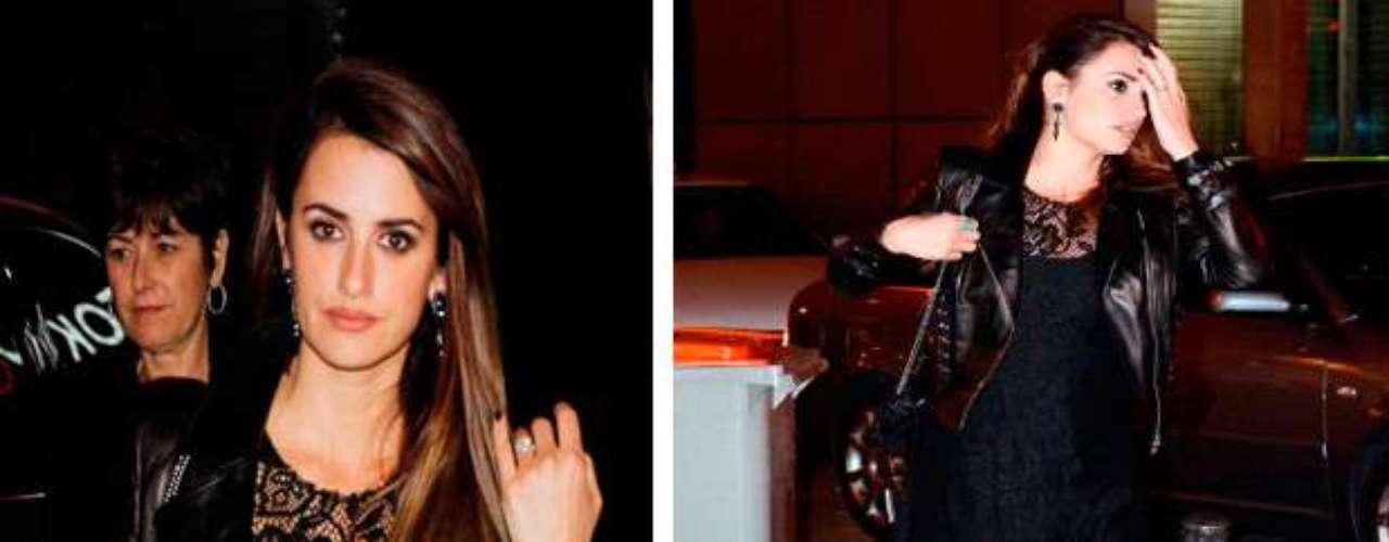 La actriz fue ganadora del Oscar por la película 'Vicky Cristina Barcelona', durante su embarazo de su primer hijo.