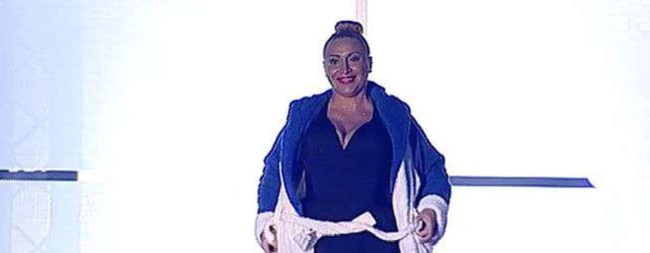 Raquel Mosquera es una de las preferidas por los creadores del vestuario del programa, aunque ya ha sido eliminada en una de las galas.