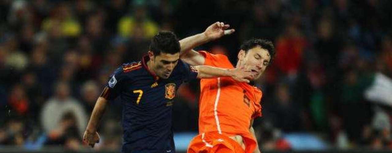 En la final del Mundial contra Holanda.