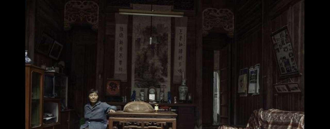 La serie de fotografías de Matjaz Tancic inspiradas por salones del estilo Hui en la ciudad china de Yixian, ganó la categoría de 3D.
