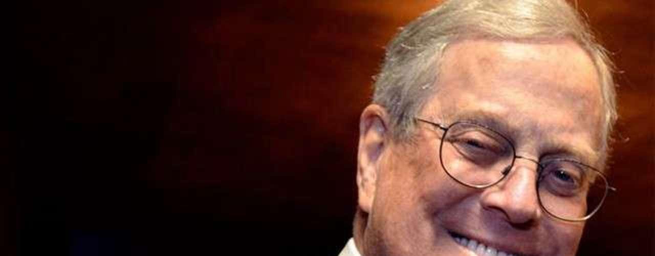 David Kochnace en Mayo de 1940 en Kansas. Considerado el segundo hombre más rico de Nueva York, después de Bloomberg, empresario con vocación política y ha sido la bestia negra del presidente Obama. Filántropo ha donado 100 millones de dólares al teatro que alberga la ópera de Nueva York