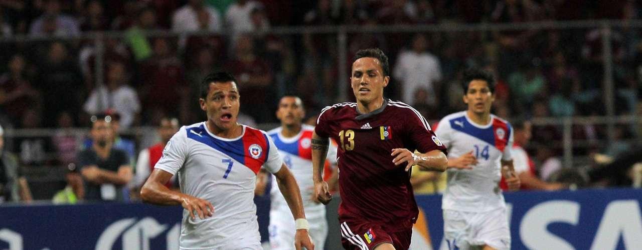 FECHA 15, CHILE vs VENEZUELA el 6 de septiembre.