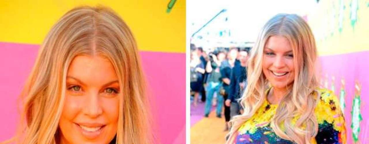 Fergie acompañó a su esposo Josh Duhamel, quien fue el presentador de los 'Kids Choice Awards 2013