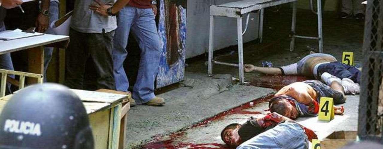 El estudio señala que la tasa de homicidios en San Pedro sula es de 169 muertos por cada 100,000 habitantes.