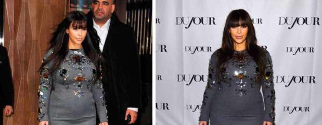 Desde que su pareja, Kanye West, anunciara a finales de 2012 su embarazo, Kim fue foco de todas las miradas.