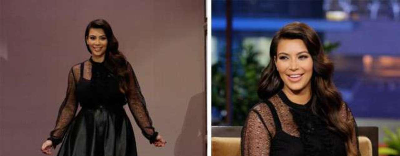 Parece que a la empresaria le costó mucho trabajo encontrar ropa que se adaptara a sus curvas (que por cierto ha declarado, volvían loco a su chico, Kanye West).