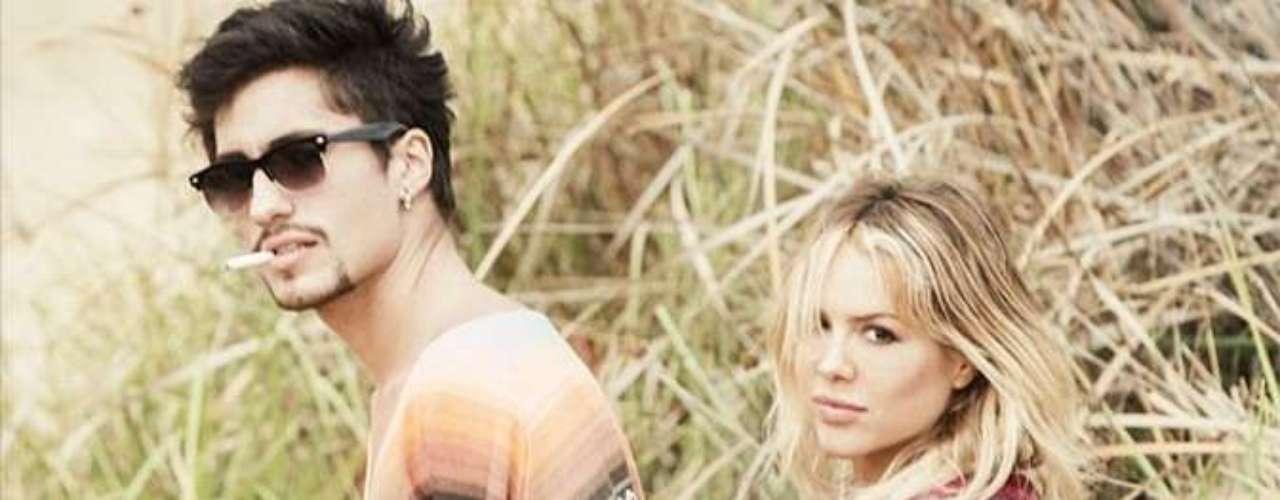 Andee Zeta, músico y novio de Natalia París, la acompaña a todos sus eventos.