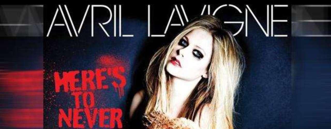 Avril Lavigne calentó las redes sociales al subir la foto de la portada de su nuevo sencillo \