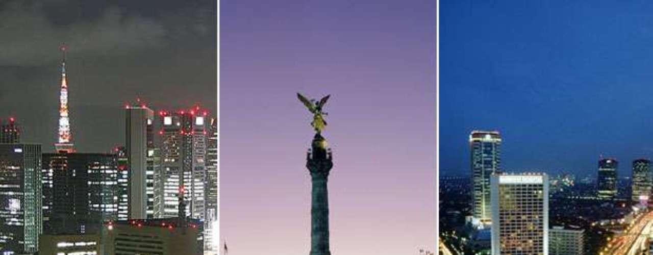 Por su amplia población, las siguientes ciudades se destacan como las más grandes del mundo. La mayoría se encuentra en el continente asiático ydel continen,te americano figuran \