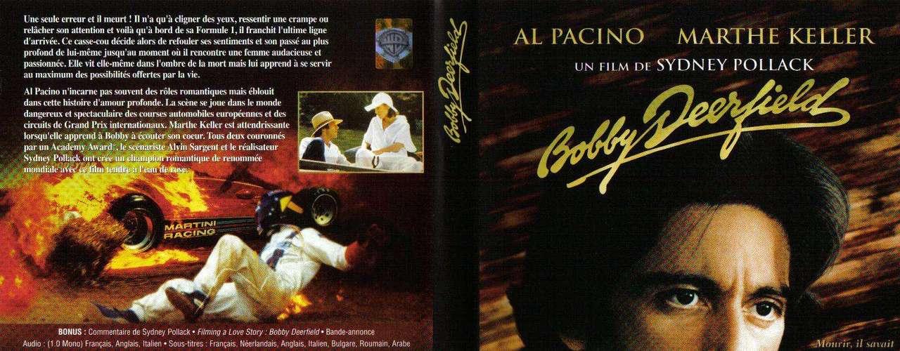 Booby Deerfield (1977). Es un filme realizado por Sidney Pollack y protagonizado por Al Pacino.