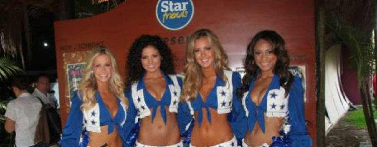 Las cheerleaders de Dallas son sin duda el grupo de animación más famoso de la NFL.