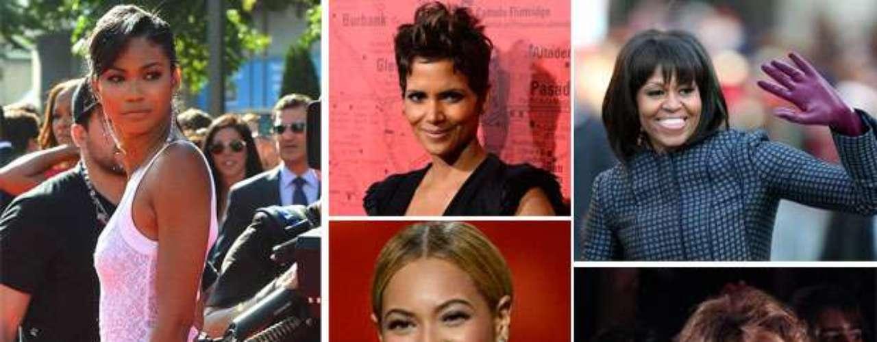 Todas estas mujeres además de ser famosas y afroamericanas, tienen una característica en común: son las mujeres las mujeres de color más bellas del momento. Aquí las más sobresalientes.