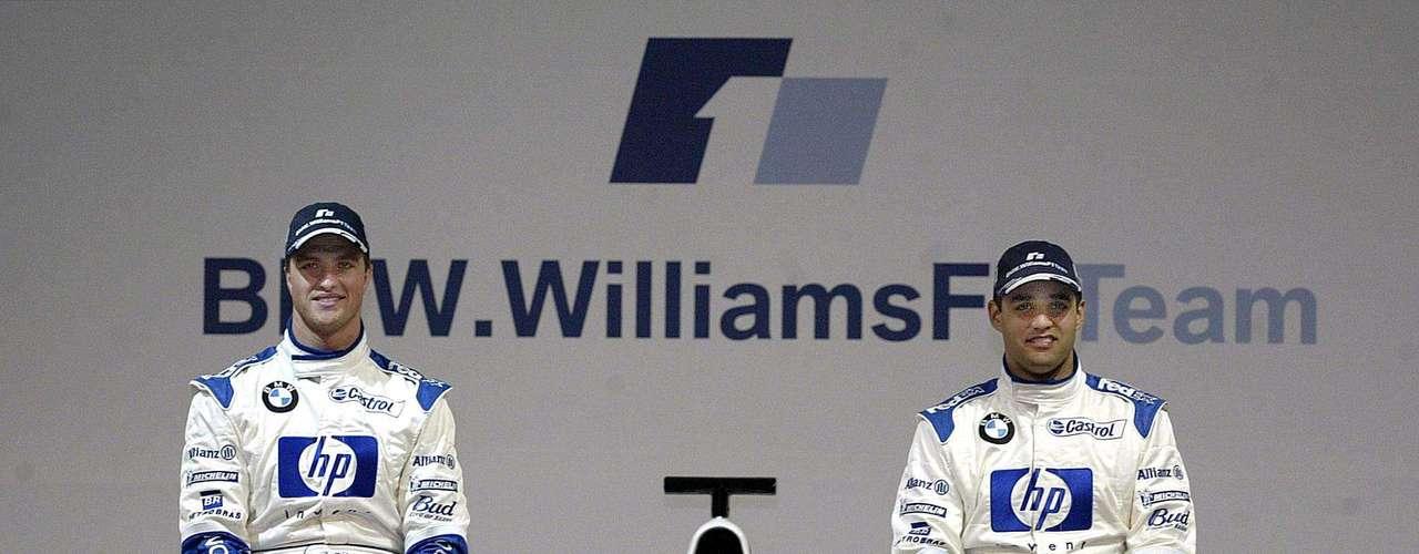 Del 2001 al 2004, Juan Pablo Montoya y Ralf Schumacher fueron compañeros en Williams. Eran años dificiles para el equipo de Sir Frank, ya que desde 1997 no ganaban una carrera. Sin embargo, montar los motores BMW fue un acierto, ya que en 2001 eran los mejores motores de la categoría. Otro acierto fue juntar a estos dos pilotos en el equipo, ya que su rivalidad personal impulsó al equipo a volver al triunfo. Por supuesto que la rivalidad no sólo quedaba en simple competición, sino que era una guerra interna. En el GP Francés de 2001, Ralf se negó a dejar pasar a Montoya a pesar de saber que lo estaba obstuyendo y que estaba rodando mucho más lento. Como resultado, Montoya se retrasó antes de romper el motor.