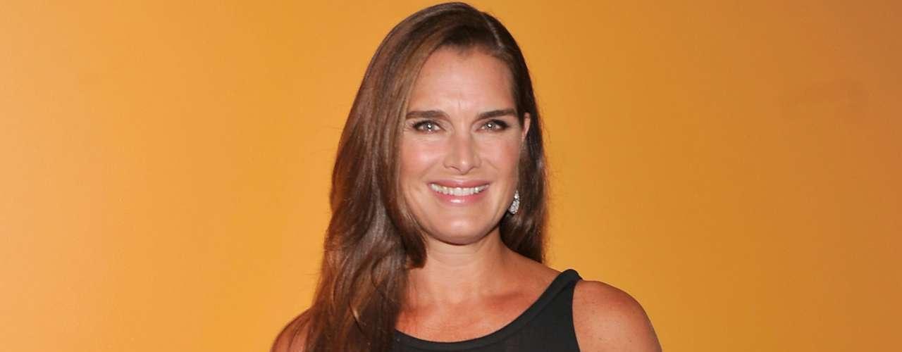 Aunque no lo parezca Brooke Shields, recordada por su actuación en la película 'La Laguna Azul', tuvo a su segundo bebé, Grier Hammond, en 2006, cuando ella ya contaba con 41 años.