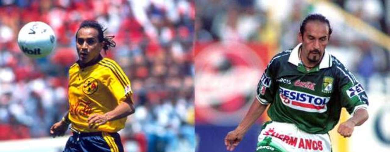 Raúl Gutiérrez tuvo una larga carrera como jugador de América, desde la temporada 1994-95 hasta el Invierno 2001, mientras con León sólo disputó el torneo de Verano 2002