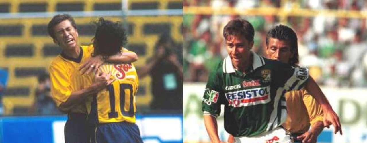 Nicolás Ramírez tuvo un pasó fugaz por ambos equipos, con América sólo jugó el Invierno 2000 y con León el Verano 2001
