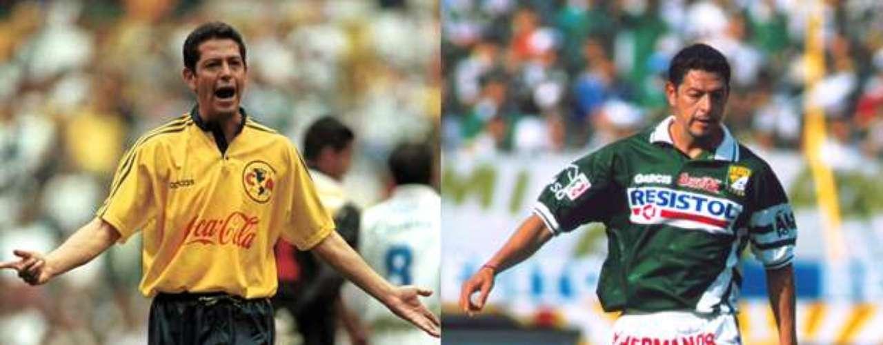 José Luis Salgado defendió los colores de América desde la temporada 1995-96 hasta el Invierno 2000, para emigrar al León para jugar sólo el torneo de Verano 2001