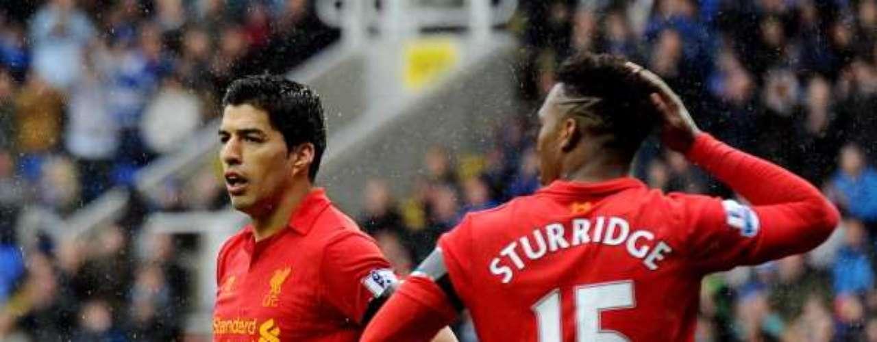 Si Luis Suárez y Daniel Sturridge hubiesen metido todas las que tuvieron, Liverpool hubiera goleado sin problemas.