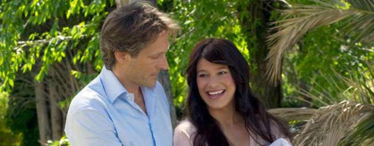 La presentadora dejó de trabajar en televisión hace unos años para dedicarse plenamente al cuidado de su hija,Laura, de tres años.