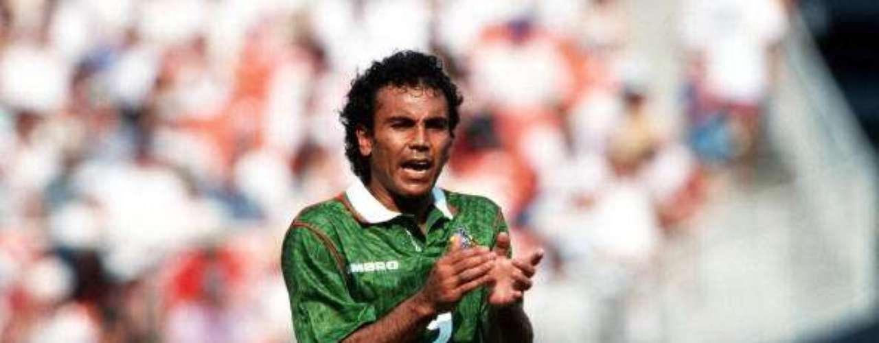 MIEDO. Tras la eliminación de México en el Mundial de Estados Unidos 94 ante Bulgaria, Hugo recuerda ese momento: \