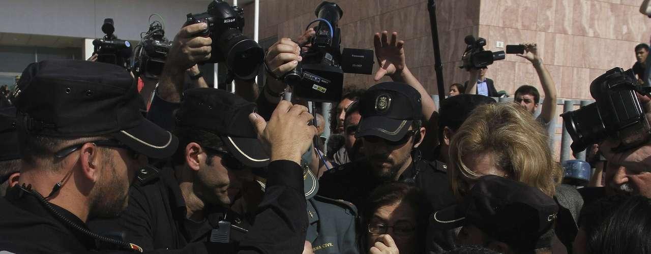 La cantante española no ingresará en la cárcel porque no tiene antecedentes penales y la pena no supera los dos años, según establece el ordenamiento jurídico español.