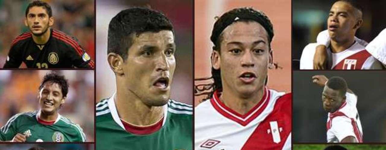 México y Perú ya se encuentran en San Francisco, para el duelo amistoso que sostendrán este miércoles. Te presentamos los jugadores a seguir de los cuadros alternativos que presentarán José Manuel de la Torre y Sergio Markarián.