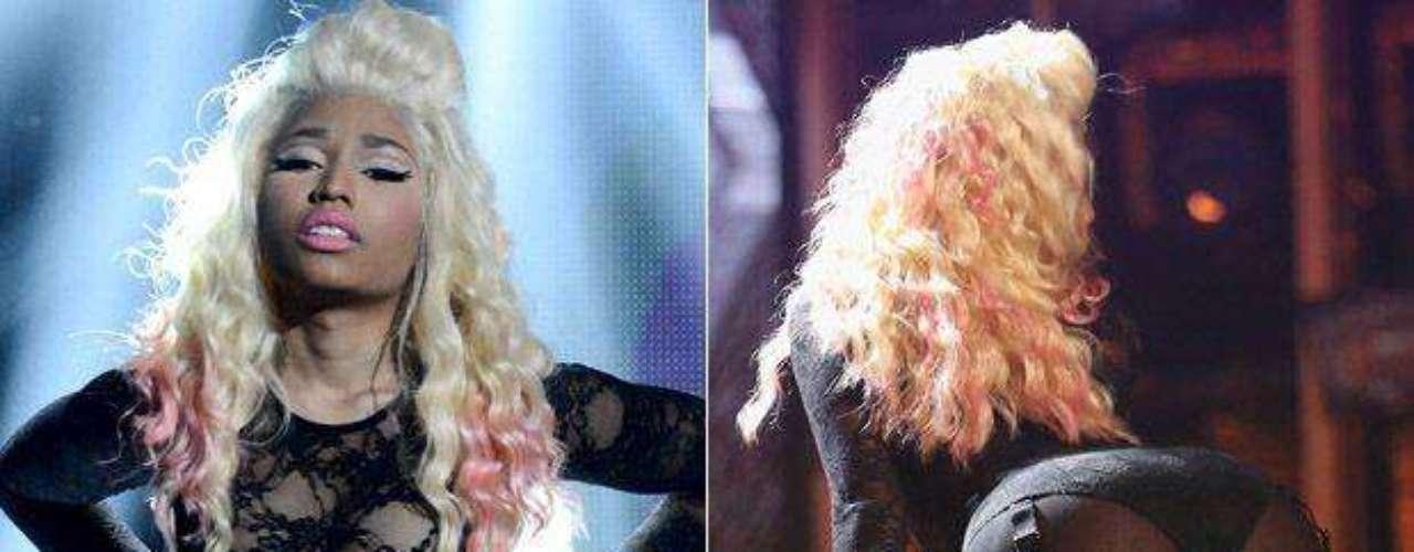 Los Bet Awards 2012 sirvieron para que Nicki Minaj, vestida con transparencias, mostrara su lado salvaje y un poco más.