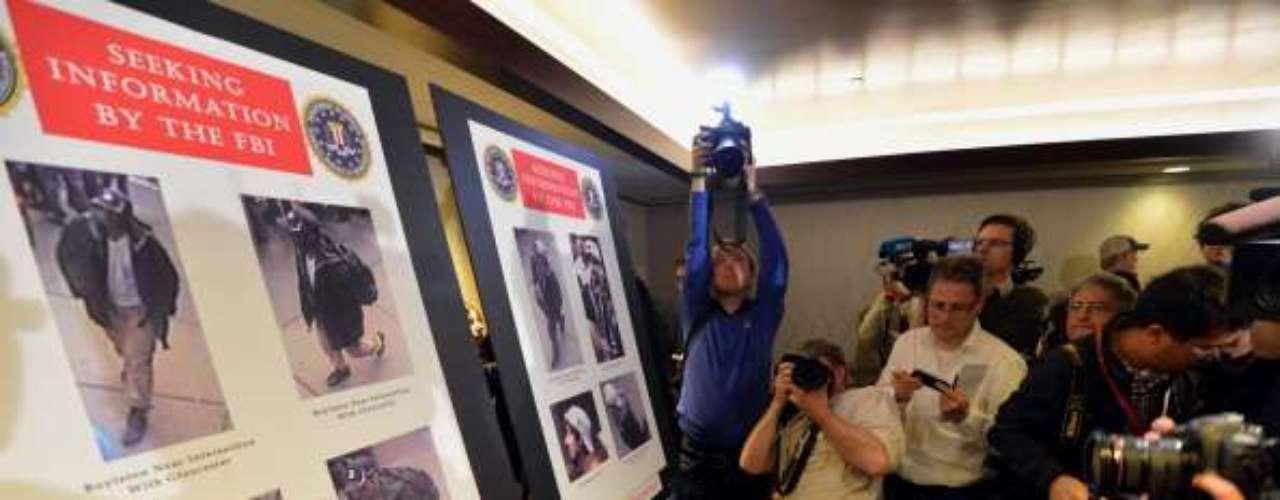 La ansiedad de la prensa estadounidense llevó el miércoles al anuncio de que un hombre había sido detenido, pero las autoridades salieron de inmediato a desmentir cualquier arresto y el gobernador de Massachusetts, Deval Patrick, pidió \
