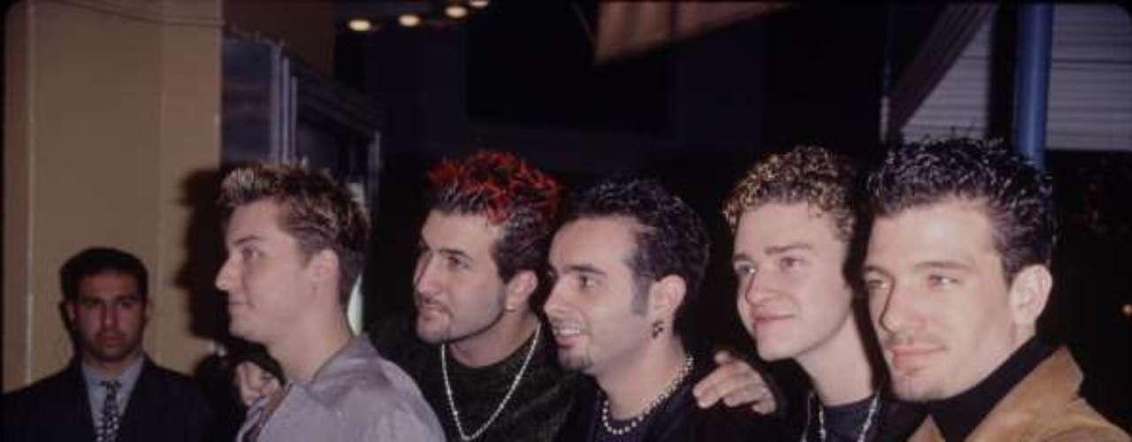 'N Sync, formado por Justin Timberlake, Chris Kirkpatrick, Joey Fatone, Lance Bass y JC Chasez, tuvo su auge a principios del año 2000.