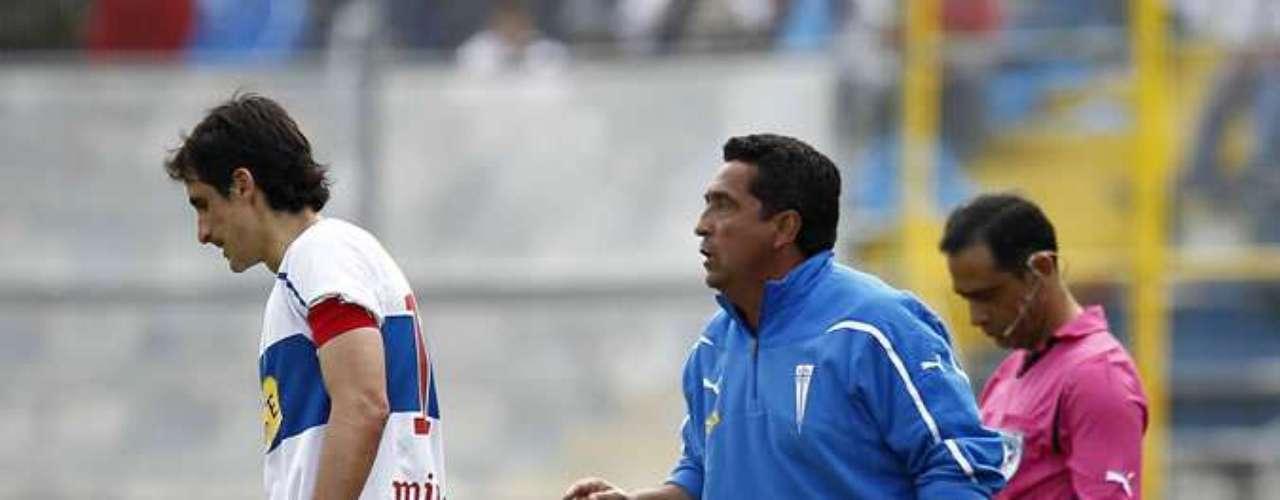 La UC no podrá contar con Milován Mirosevic por lesión. Si estará a disposición del DT Lasarte Tomás Costa.