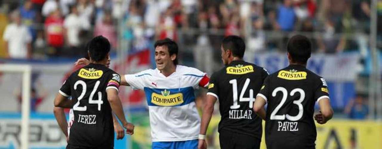 Milován Mirosevic es el jugador activo de la UCque más le ha marcado goles al Cacique. Ha anotado 10 dianas.
