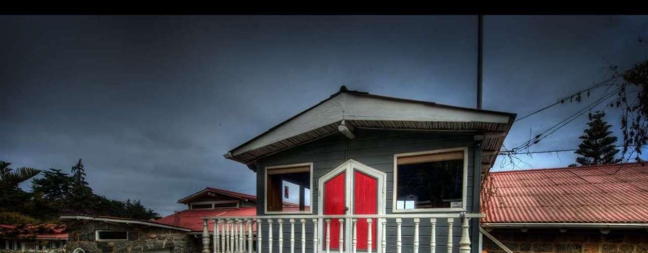 Esta fue la base de la construcción original que Delia del Carril, la primera mujer de Neruda, compró en Isla Negra