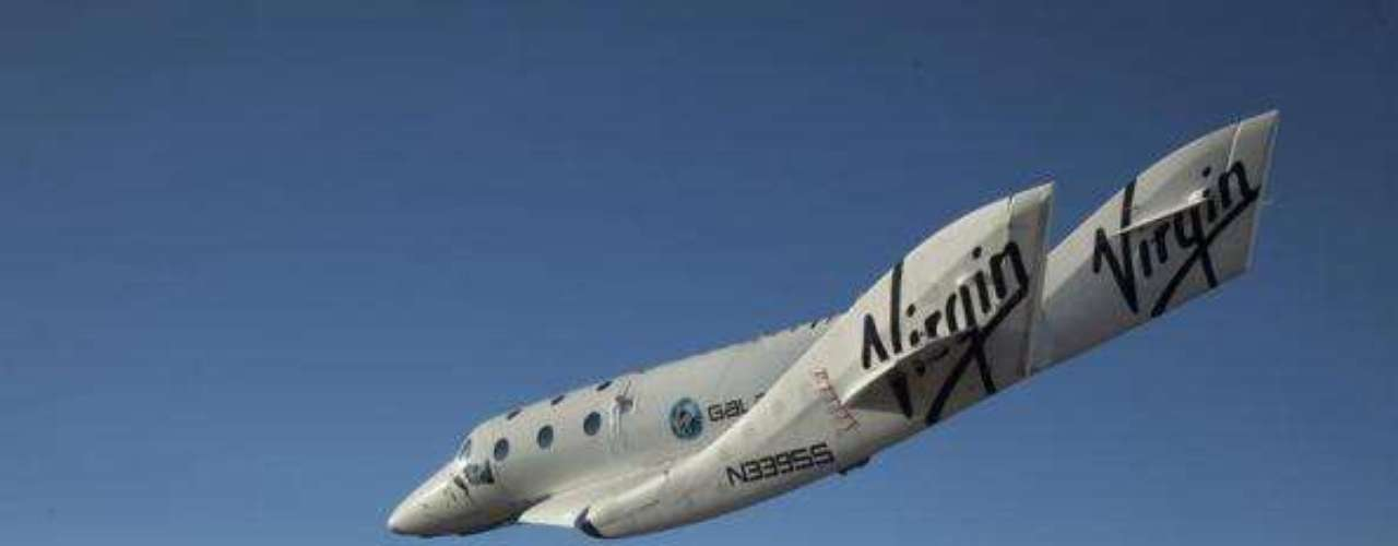 El Virgin Galactic SpaceShip2 (VSS Enterprise) en su primer vuelo.
