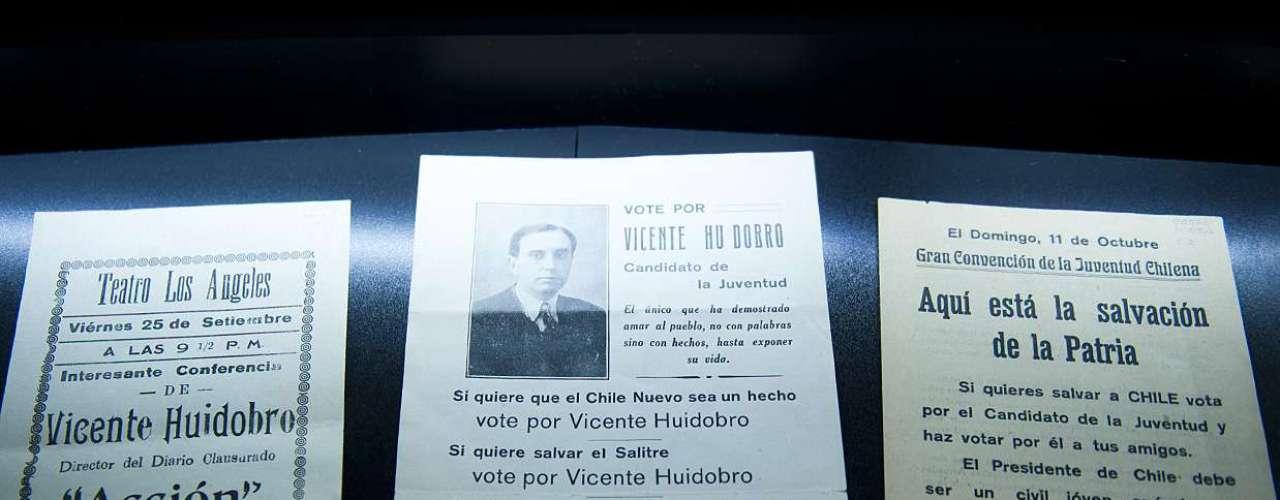 Moderno, eso fue Vicente Huidobro. Su inquietud política era parte de esa condición de intelectual moderno, lo mismo su interés científico