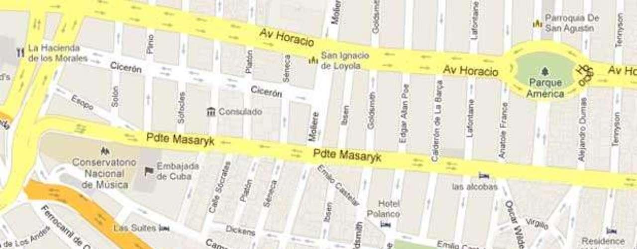 Morablanca está ubicado en Emilio Castelar 135, colonia Polanco, delegación Miguel Hidalgo. Reservaciones al 5280-4358.