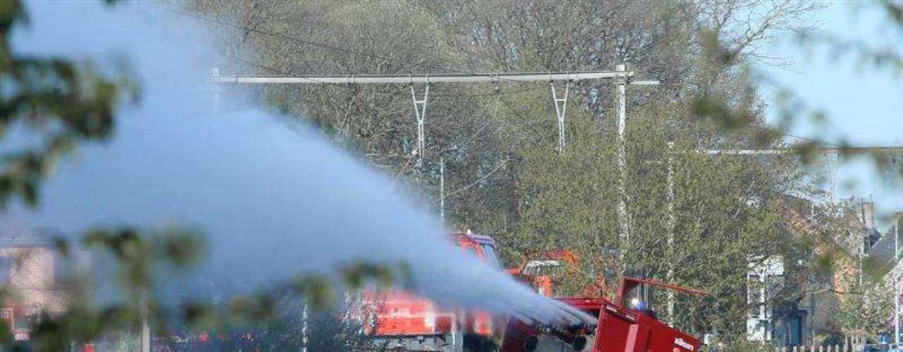 El tráfico ferroviario en la zona estará suspendido durante dos días.