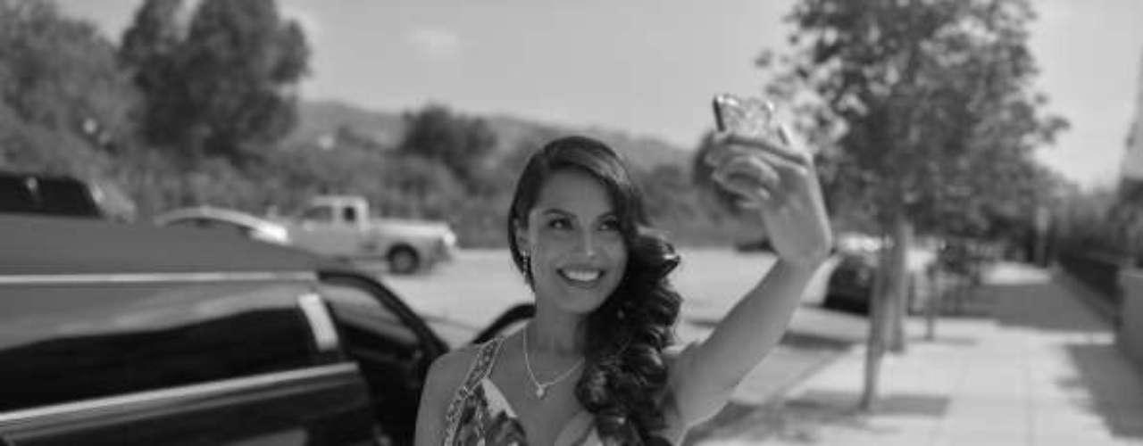 Raquel Pomplun, la primera mexicoamericana en quedarse con el título de Playmate of the year de Playboy.