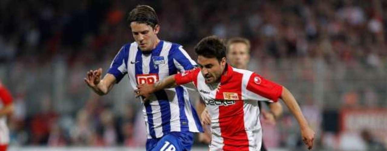 FELIPE GALLEGOS: La cesión del volante de 21 años al Unión Berlín del ascenso alemán termina en junio, y ya su agente Alejandro Santiesteban confirmó a TERRA que regresará a las filas de la U.