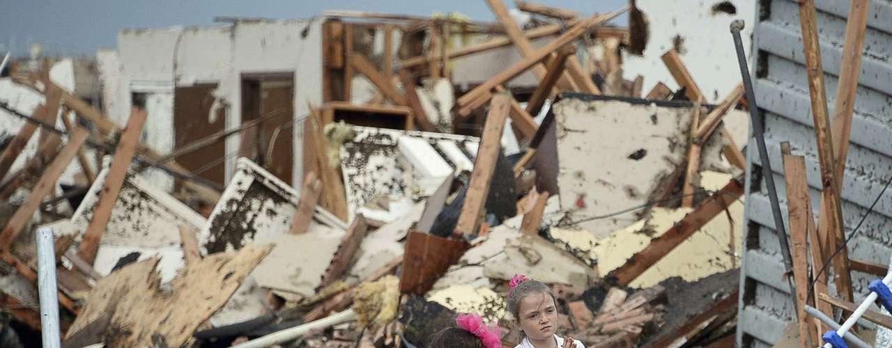 La mayoría de los tornados se producen en los estados de las grandes llanuras: Texas, Oklahoma oKansas.
