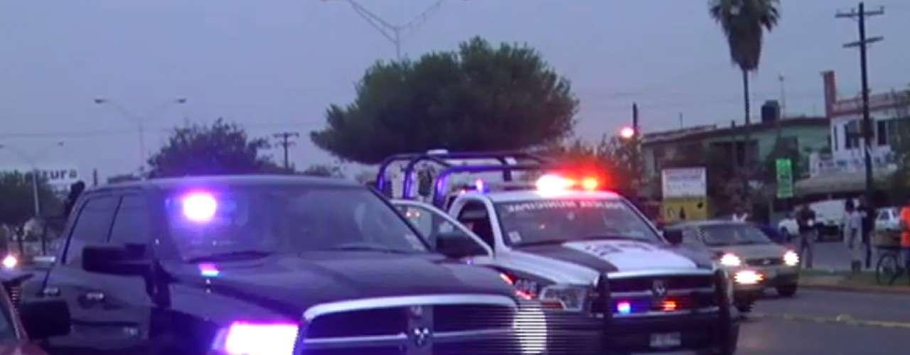 Elementos de la Agencia Estatal de Investigaciones, Fuerza Civil y Policía de Guadalupe se dieron cita en la escena del doble homicidio, al tiempo que peritos de criminalística recolectaron evidencia y procedieron al traslado de los cuerpos a las instalaciones del Servicio Médico Forense para su identificación.