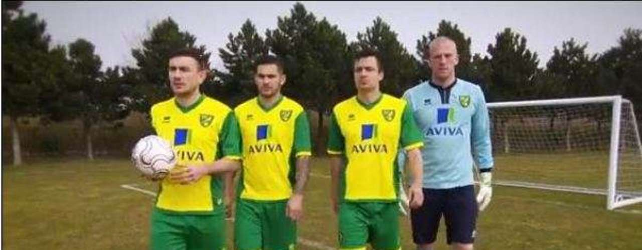 The canaries couldn't stay far form their roots. The team will stick to their neon yellow colors and green shorts.