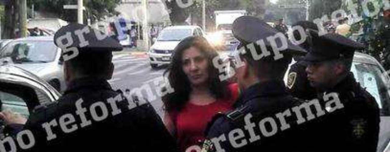 #LadyDeLaRoma,Tras atropellar a una señora, que a la postre murió, y chocar contra una camioneta, en la Colonia Roma, Dalia Ortega presumió sus \