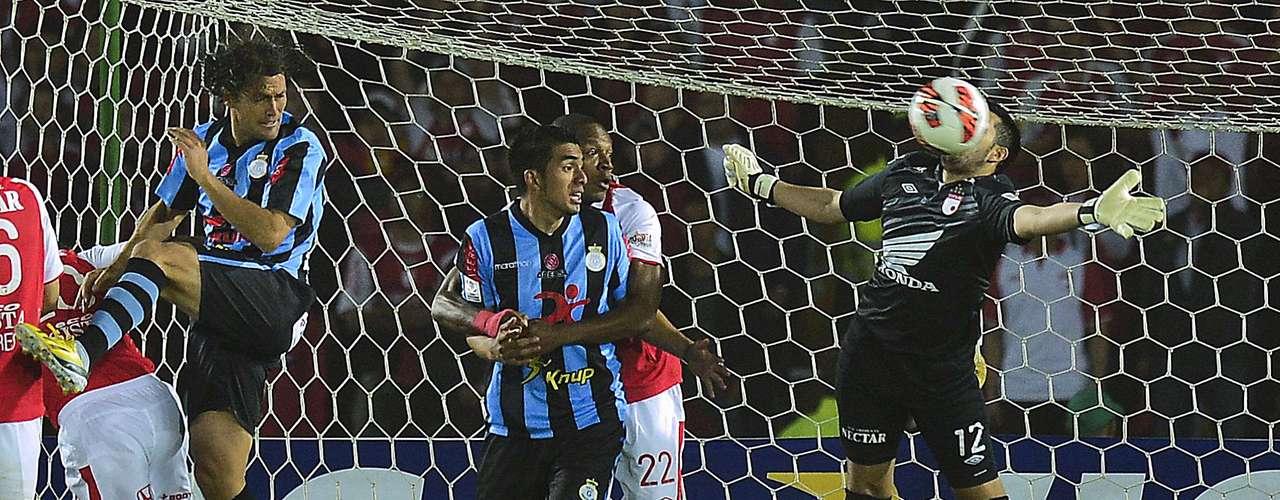 El conjunto colombiano llegó con dos goles de ventaja y como claro favorito para avanzar a semifinales.