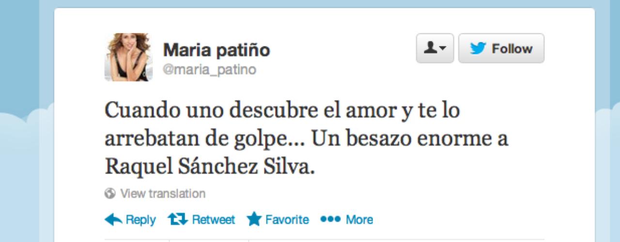 Maria Patiño: \