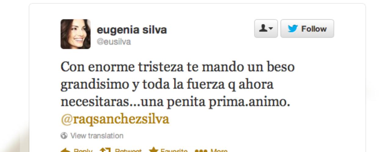 Eugenia Silva: \